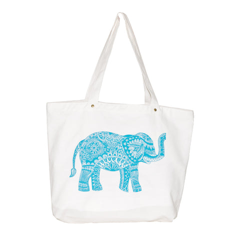 Blue Spring Dialogue Tote Bag