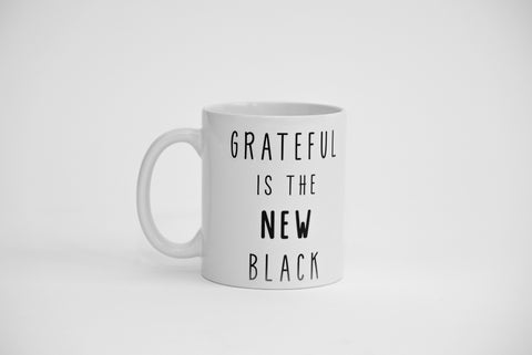 Dialogue Coffee Mug // Grateful Is The New Black