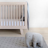 BABYLETTO HUDSON CONVERTIBLE COT WASHED NATURAL
