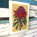 WOODBLOCK WARATAH XL