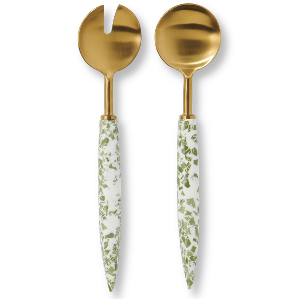 ISLAND LIFE SALAD SERVERS, KIP & CO