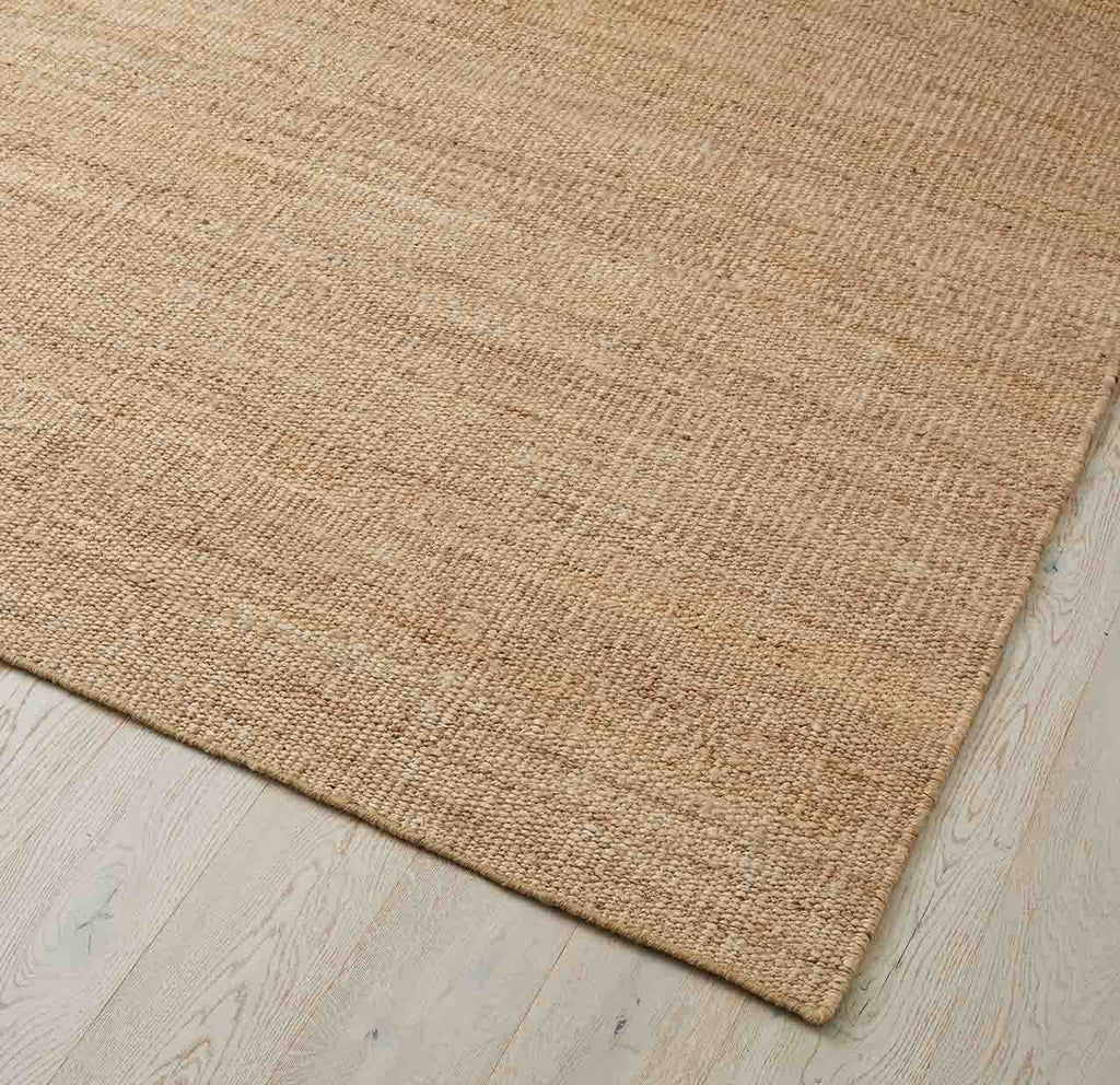 CADIZ JUTE FLOOR RUG, NATURAL