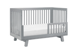 BABYLETTO HUDSON CONVERTIBLE COT GREY