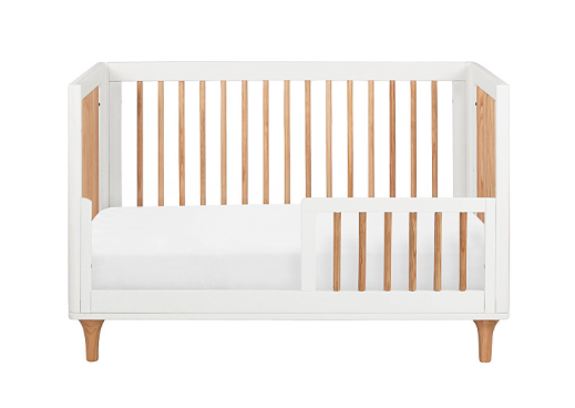 BABYLETTO LOLLY CONVERTIBLE COT WHITE/NATURAL