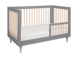 BABYLETTO LOLLY CONVERTIBLE COT GREY/ WASHED NATURAL