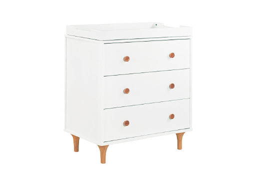 BABYLETTO LOLLY CHANGER DRESSER WHITE/NATURAL