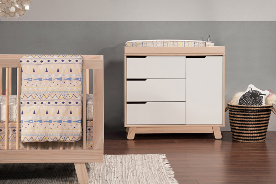 BABYLETTO HUDSON CHANGER DRESSER WASHED NATURAL