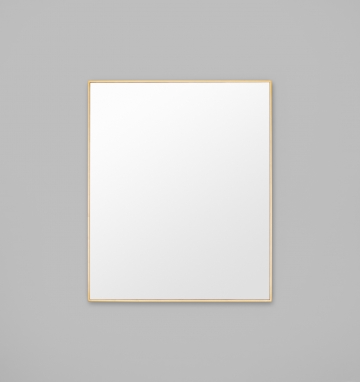 BELLA RECTANGLE MIRROR BRASS