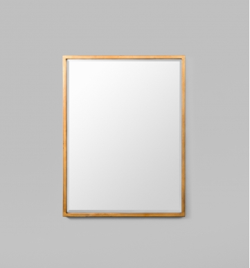 BRASS RECTANGLE MIRROR