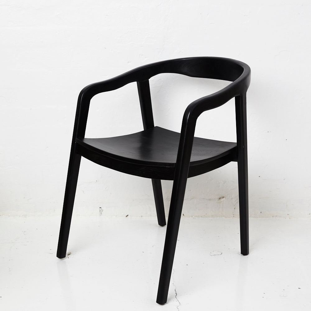 ADA DINING CHAIR BLACK