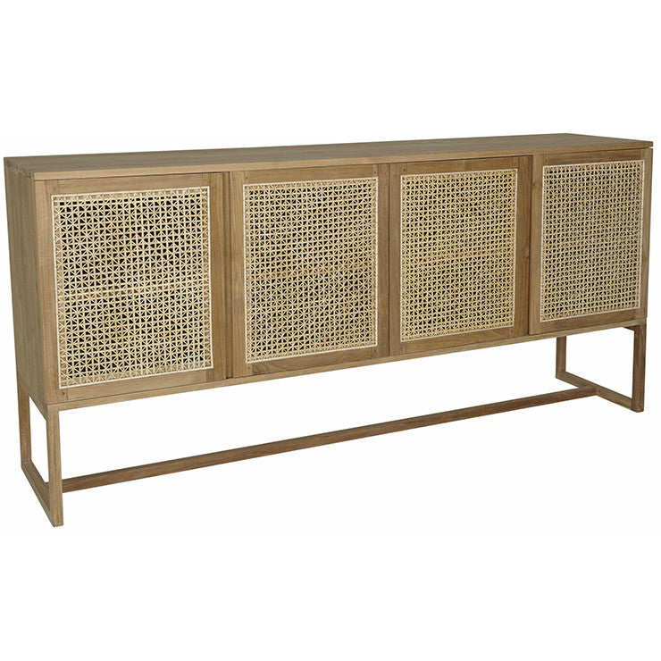 WILLOW WOVEN BUFFET (2 Colour Options)