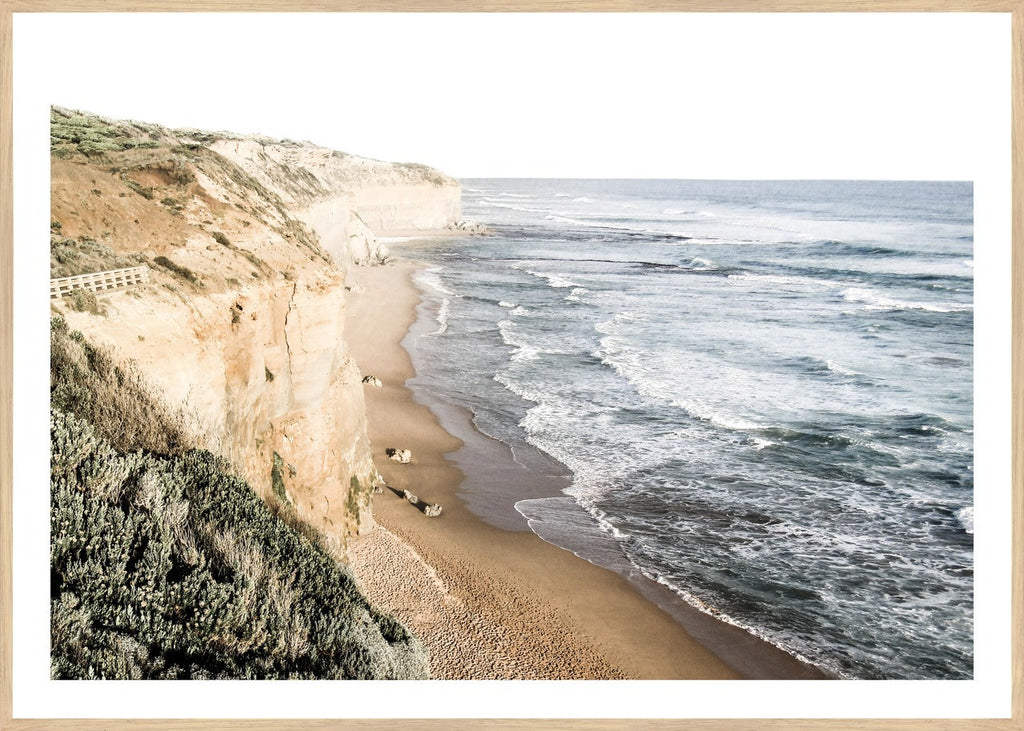 GREAT OCEAN ROAD, FRAMED PRINT