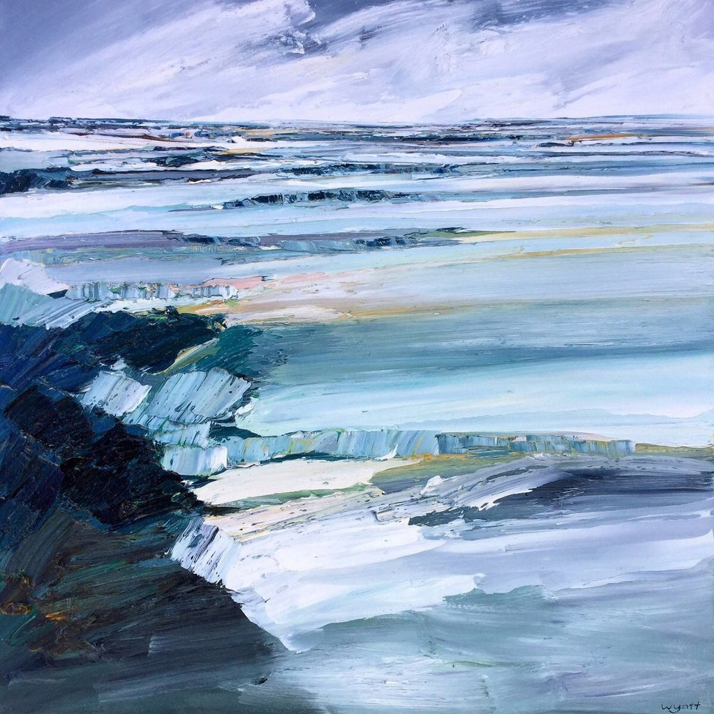 SEASCAPE - ORIGINAL PAINTING, KATIE WYATT