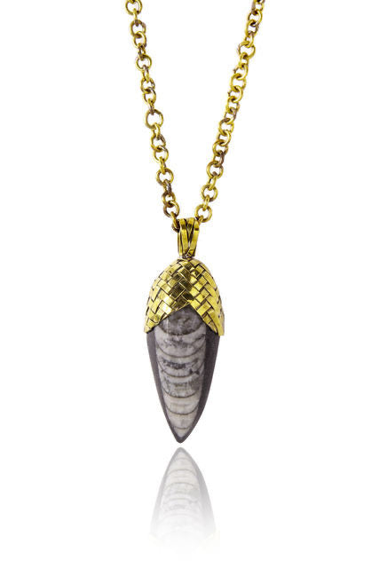 FOSSIL NECKLACE - barton&bell