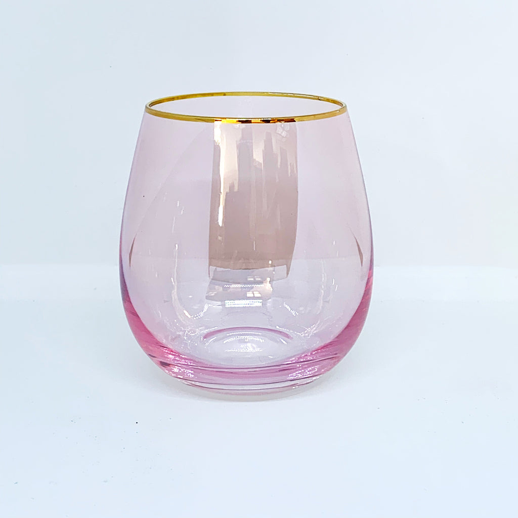 LUSTRE TUMBLERS PINK (Set of 2)