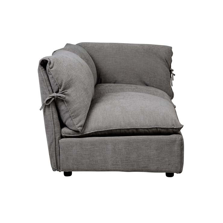 FELIX SLOUCH LEFT CHAISE, GREY STONE