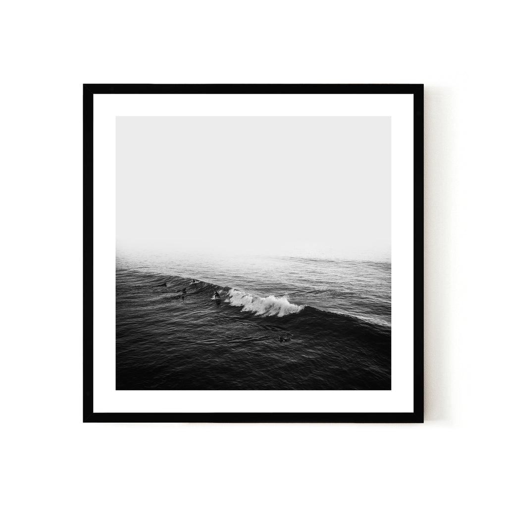 SURFERS 2, FRAMED PRINT