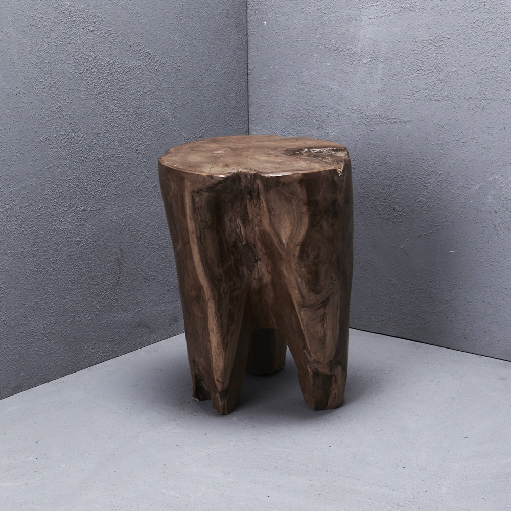 TRI LEG STOOL / SIDE TABLE