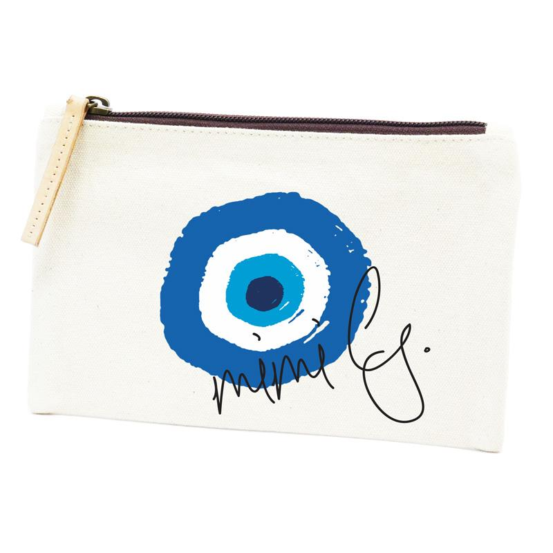 Parker Thatch Classic Cosmetic Bag - Lucky Evil Eye