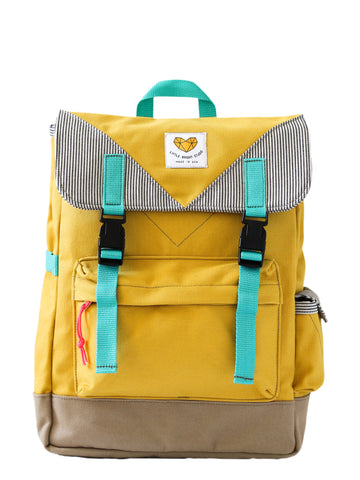 Adventure Backpack in Mustard Yellow