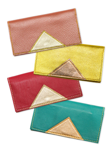 Leather Wallet - 4 colors