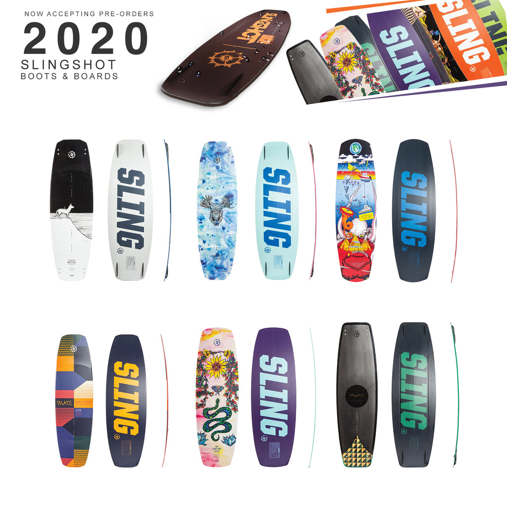 2020 Slingshot Wake Pre-orders at Blemboard.com