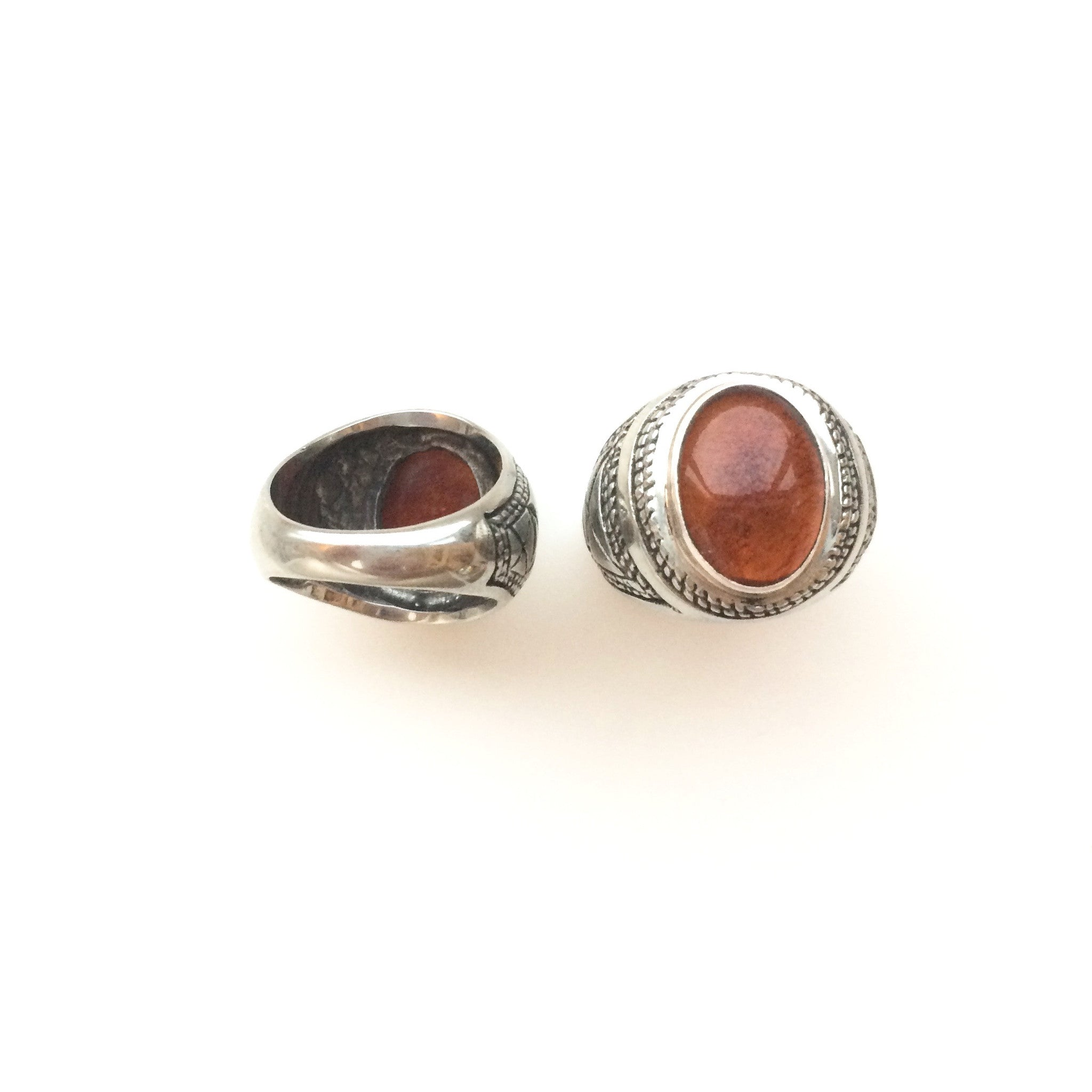eye by pin gold and fire assembly rings agate ring jewelry silver third
