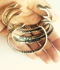 Power of Words Cuff