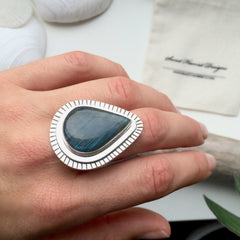 Large Tear Drop Labradorite