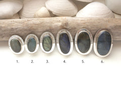 Large Labradorite Rings