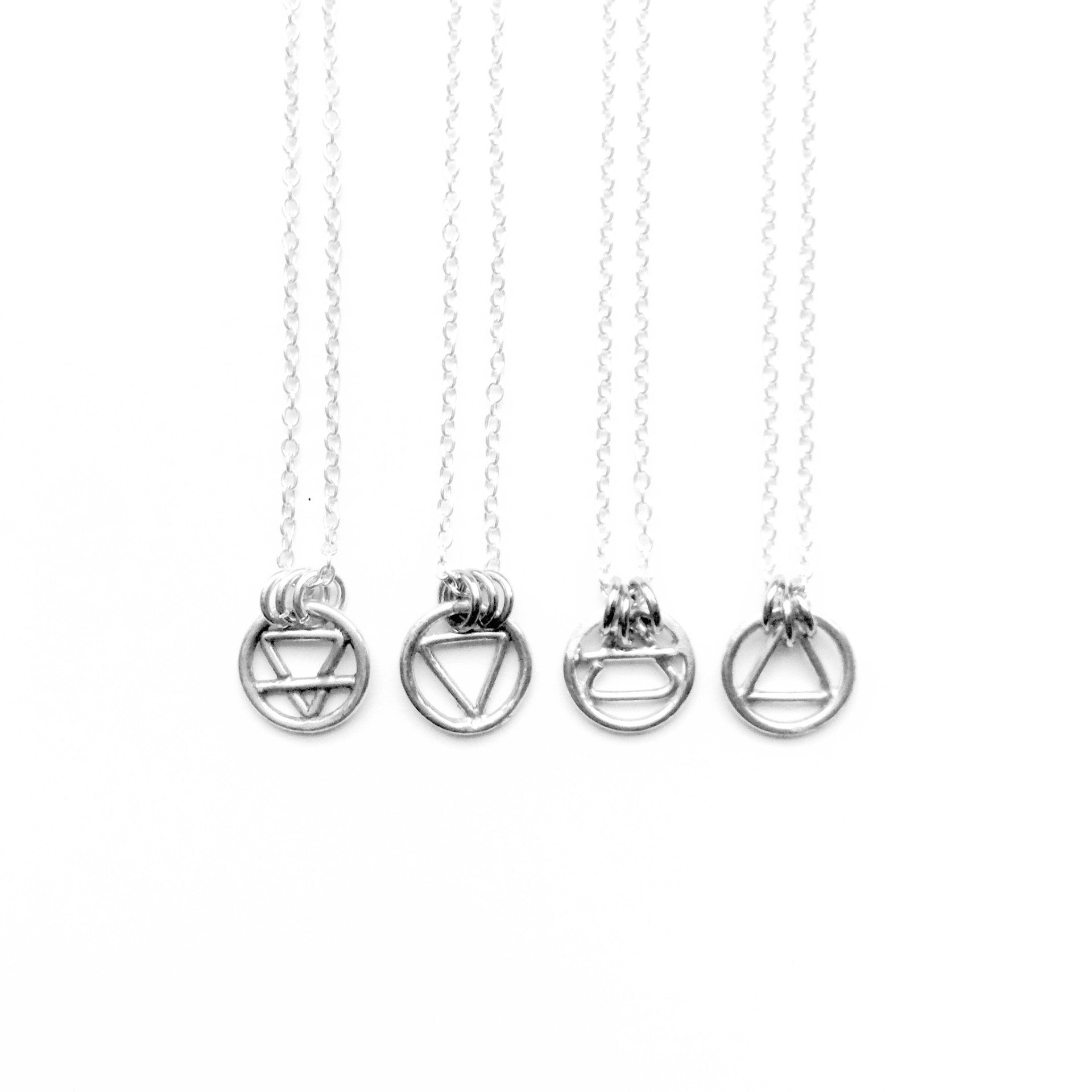 Alchemy Elements Necklaces