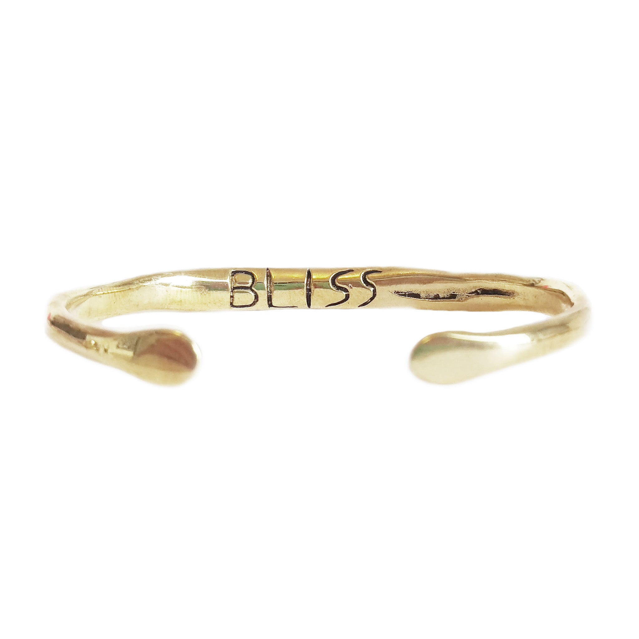 "Power of Words Cuff ""BLISS"""