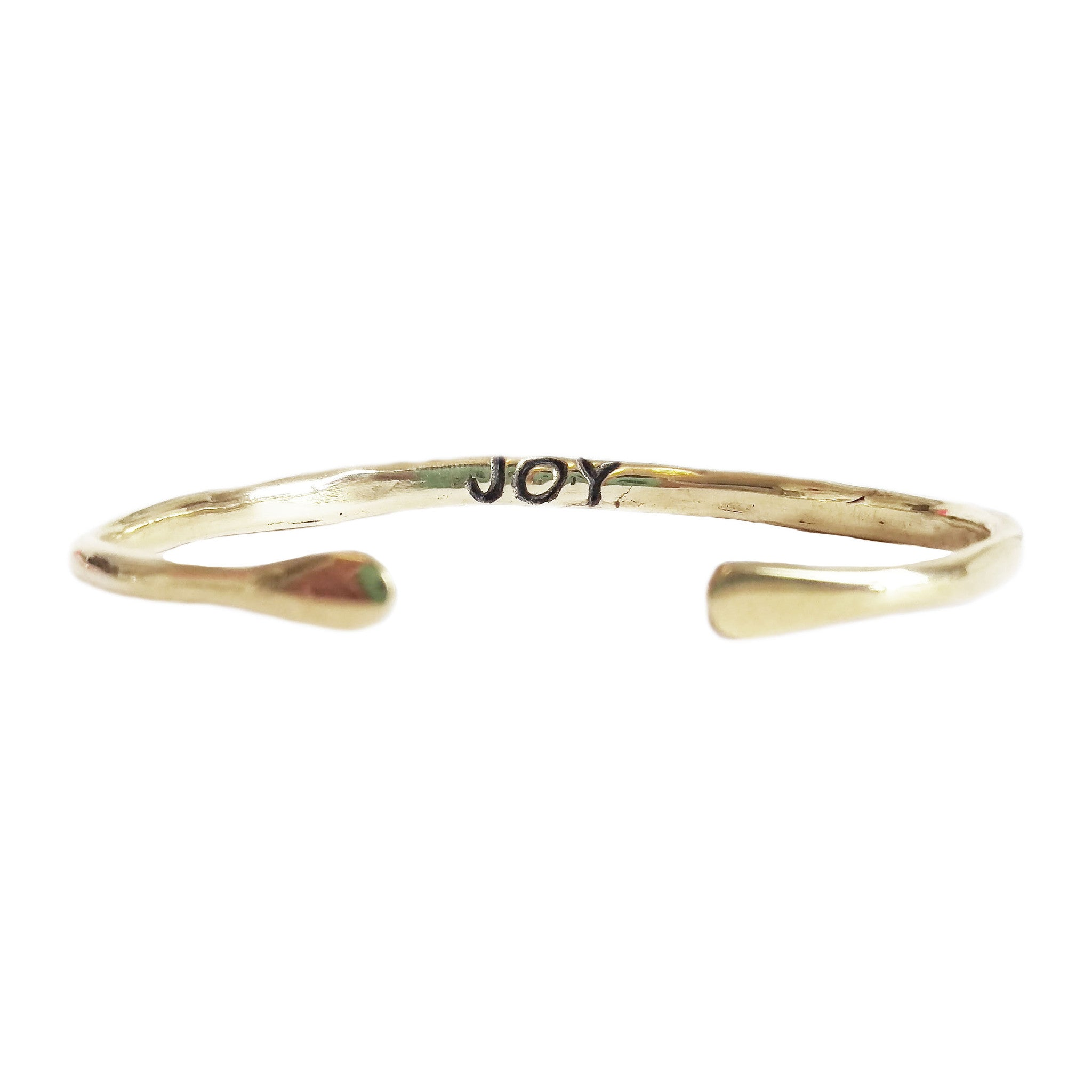 "Power of Words Cuff ""JOY"""