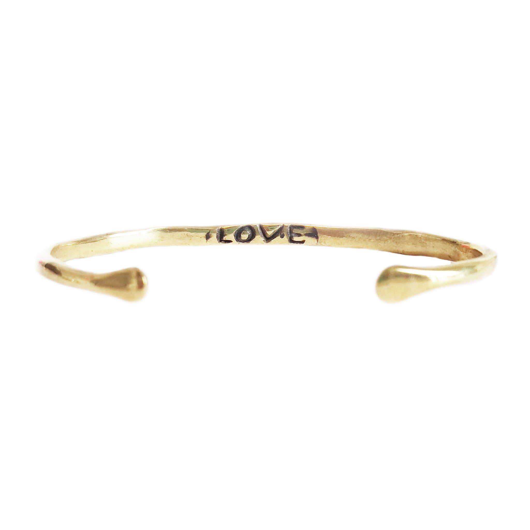 "Power of Words Cuff ""LOVE"""