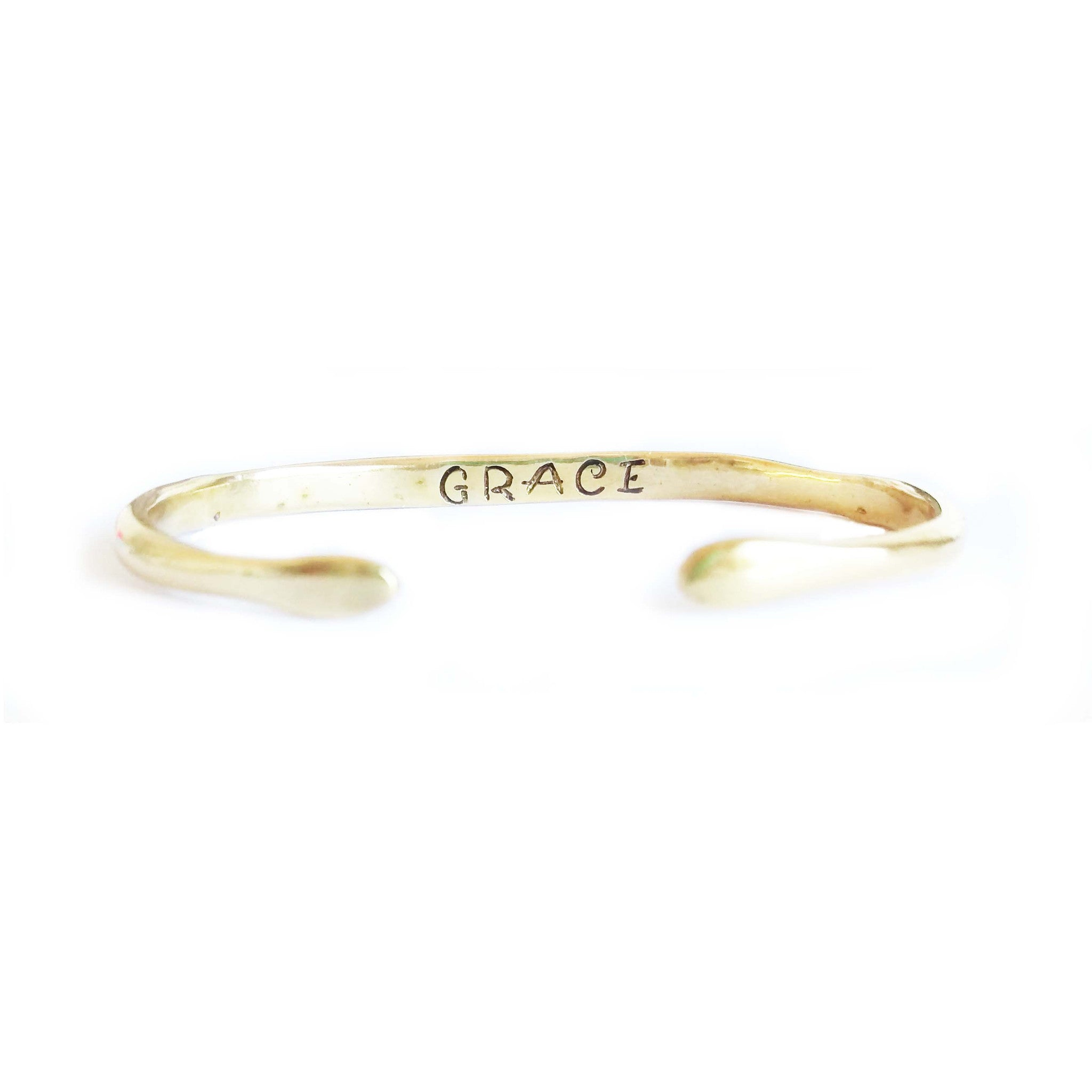 "Power of Words Cuff ""GRACE"""