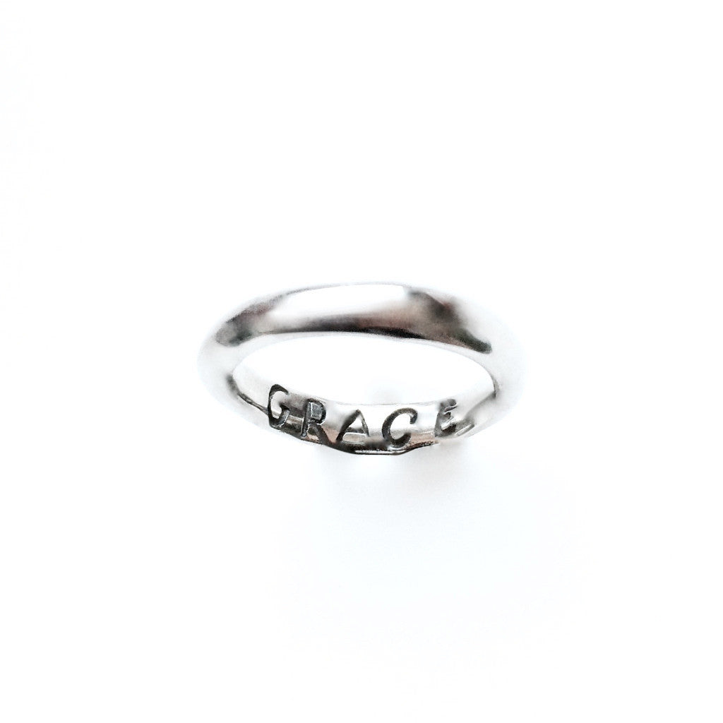 "Power of Words ""Grace"" Ring"