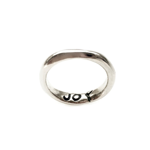 "Power of Words ""JOY"" Ring"