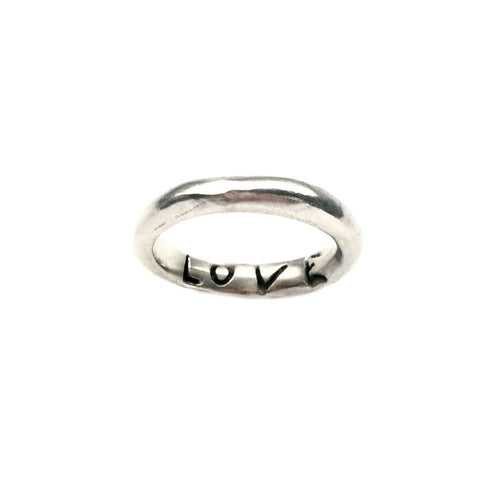"Power of Words ""LOVE"" Ring"