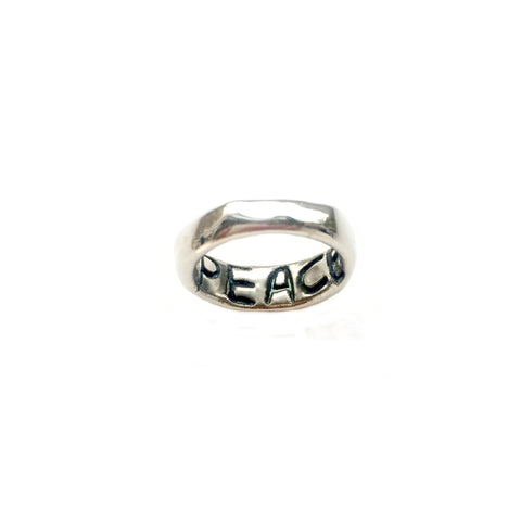 "Power of Words ""PEACE"" Ring"