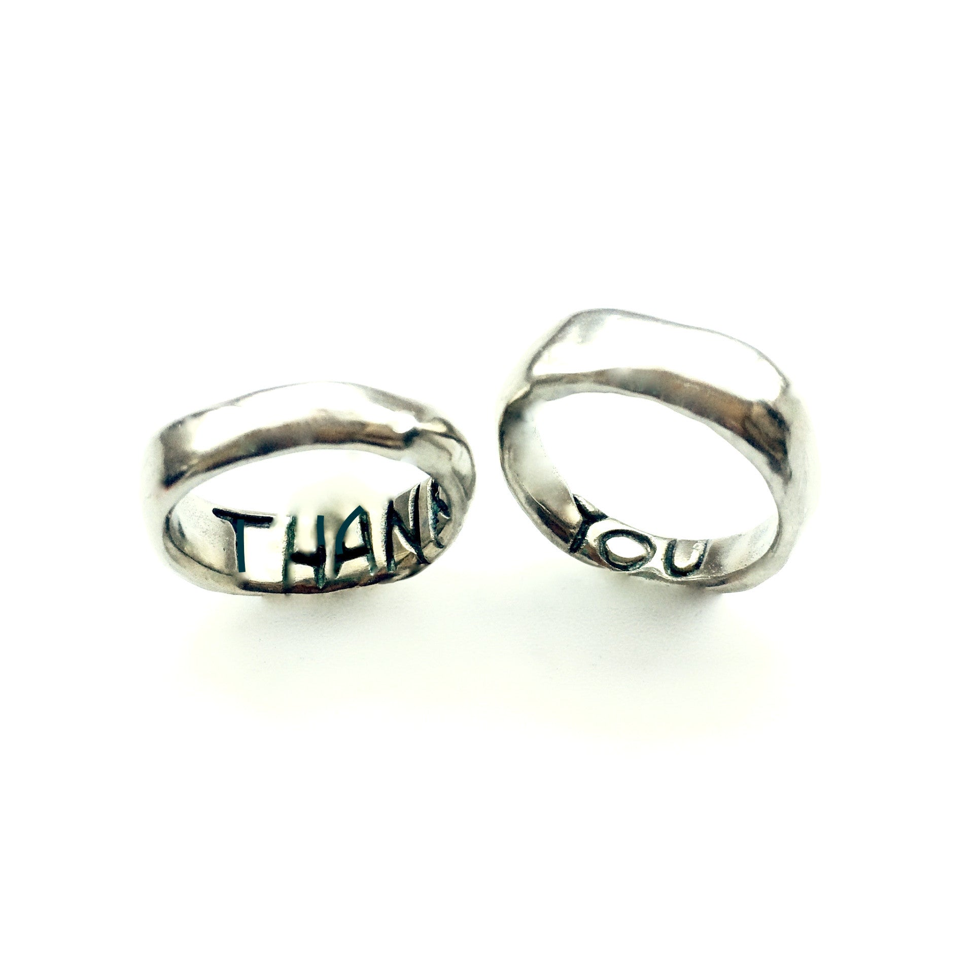 "Power of Words ""THANK YOU"" Ring"