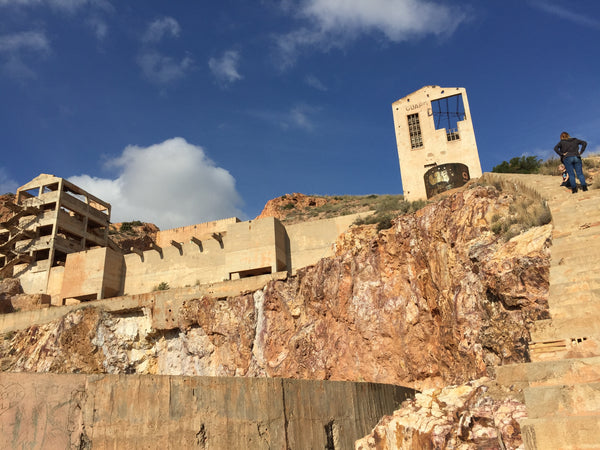 A Visit to the Abandoned Gold Mine at Rodalquilar in Andalucia