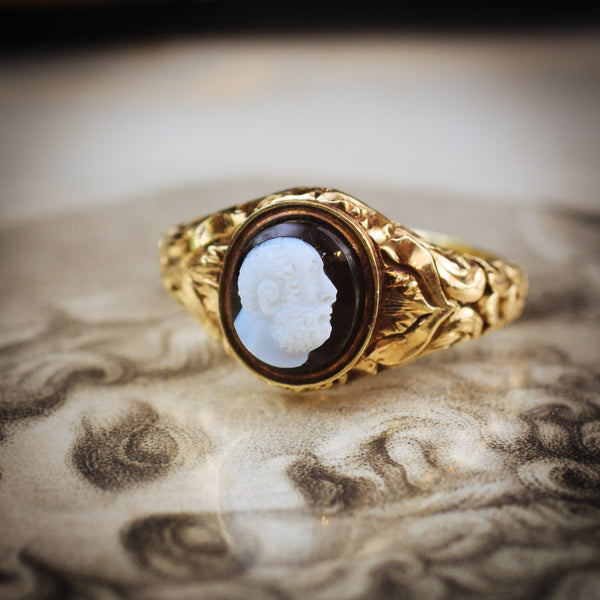 An Antique Ring Dedicated to Philosophical Thought