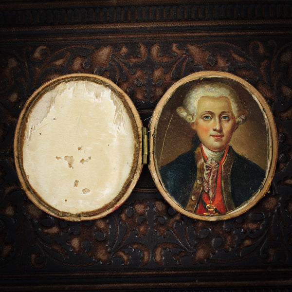 A Most Handsome Portrait Miniature Mystery