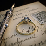 Antique Vintage Diamond Engagement Ring