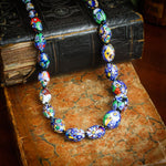 Magnificent Antique Venetian Glass Necklace