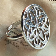 Vintage Silver Statement Ring
