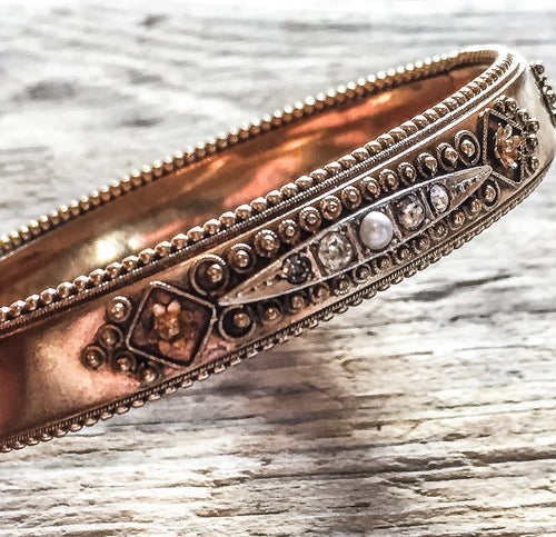 Antique Victorian Bangle Bracelet