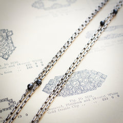 Antique French Silver Longuard Chain