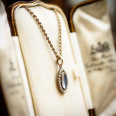 Beloved Antique Victorian Seed Pearl Pendant