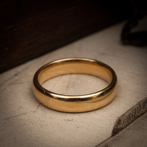 18ct Gold Wedding Band Ring